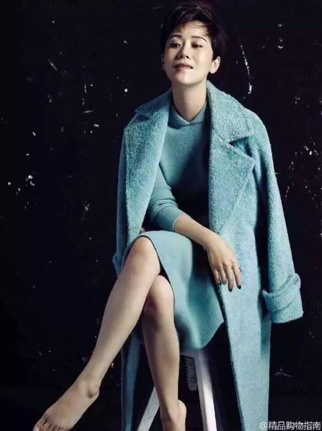 Volpe Cappotto Donne Di Modo Lana Femme Manteau Con Incredibile qOFpqz
