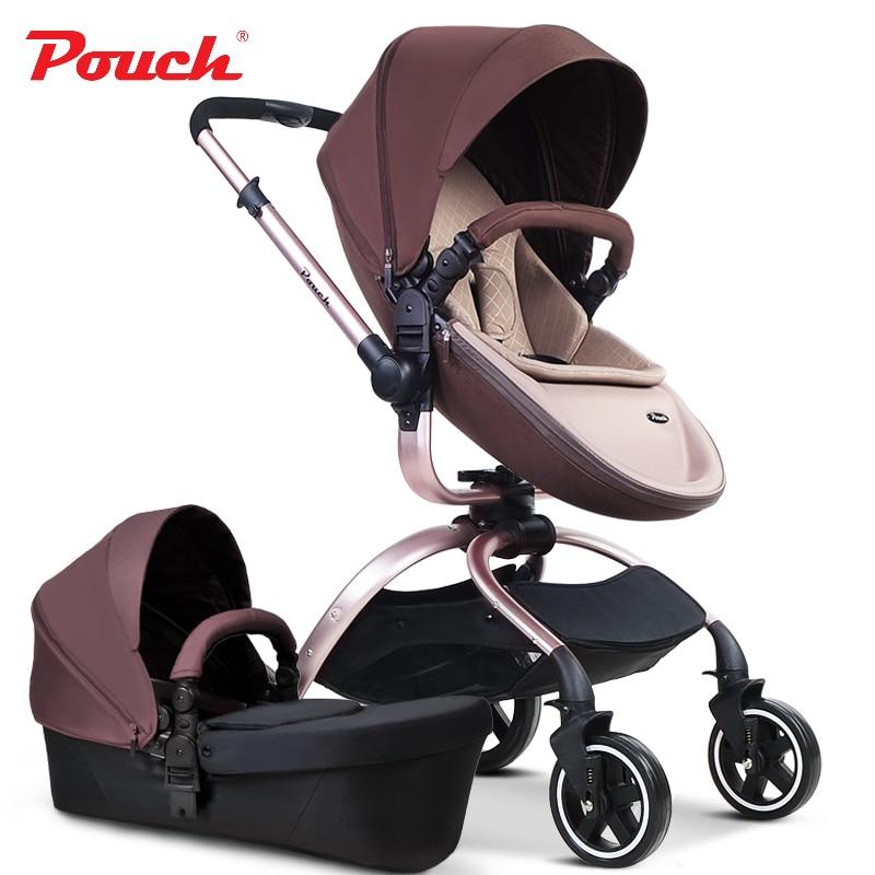 2018 брендовые Детские коляски чехол коляски независимым спальные корзины качественный материал