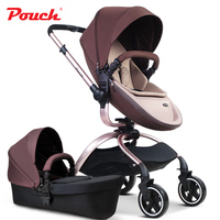 2018 brand baby strollers Pouch baby carriage independent sleeping basket good material