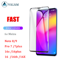 9D Full Cover Tempered Glass For meizu 16th 16s Note9 8 Screen Protector Meizu note9 Body Protection