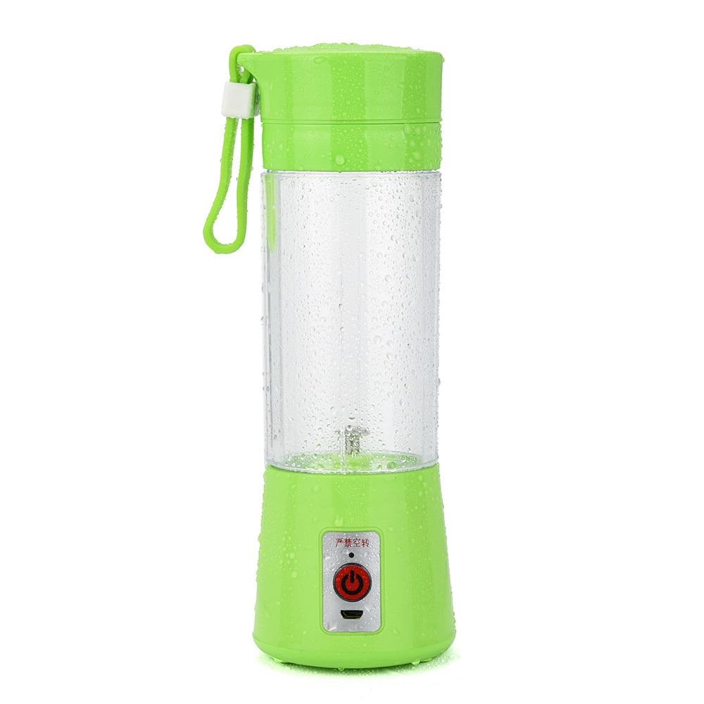 Water Bottle Blender: Bottles Portable USB Electric Fruit Juicer Smoothie Maker