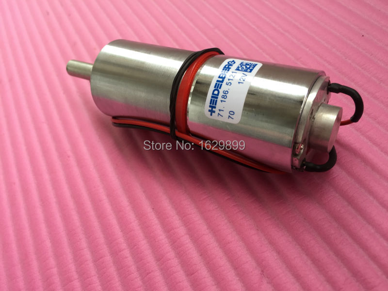 FREE SHIPPING 1 piece Heidelberg CD102 SM102 gear motor 71.186.5121, 71.186.5121/01, 12V