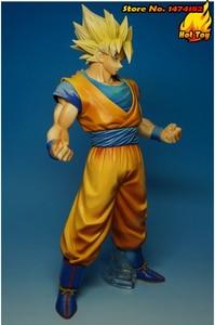 "Image 4 - BANPRESTO figura Original Master Stars Piece (MSP), 100%, Super Saiyan, de ""Dragon Ball Z"", Son Goku"