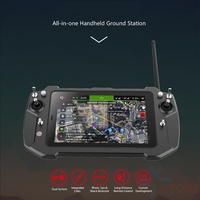 T20 All in one Handheld FPV Portable Ground Station 8 inch IPS Dual System integrated link remote control system