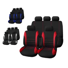 Tirol Universal Car Seat Cover 9 Set Crossovers Sedans Auto Interior Accessories Full