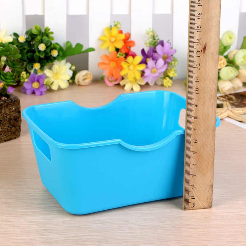 1 шт. пластиковые ящики для хранения офисный Настольный Домашний Органайзер для макияжа коробка для хранения одежды разное устройство