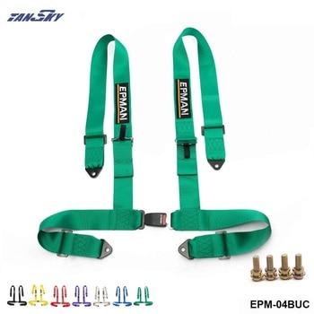 """3 """"evrensel 4 noktası sürücüsü cıvata emniyet kemeri emniyet kemeri siyah/kırmızı/mavi/gri/sarı/yeşil/mor EPM-04BUC"""