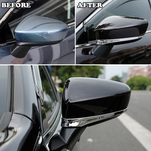 Image 2 - For Mazda 6 Atenza GJ 2013 2014 2015 2016 2017 Chrome Rear View Side Door Mirror Cover Trim Strip Molding Decoration Car Styling