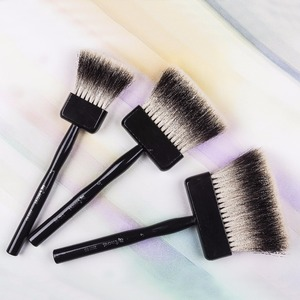 Image 5 - 2520BS high quality badger hair wooden handle art paint artistic painting brushes acrylic brush pen for acrylic oil drawing
