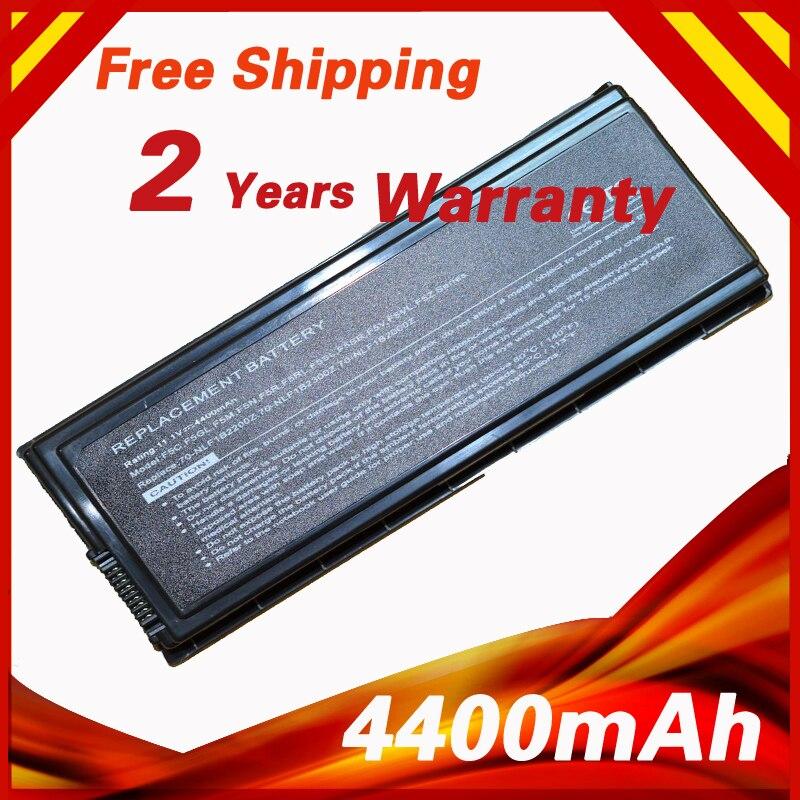 4400mAh 11.1V Laptop Battery for ASUS 90-NLF1B2000Y F5Sr F5V F5VI F5VL F5Z X50 X50C X50M X50N X50R X50RL X50SL X50V X50VL