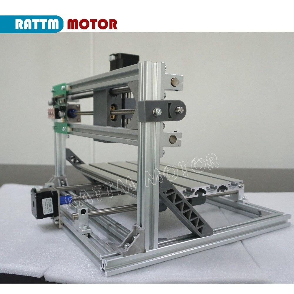 Vaisseau RUS!! CNC 3018 GRBL contrôle bricolage CNC machine 30x18x4.5 cm, 3 axes Pcb Pvc fraiseuse bois routeur laser gravure v2.5 - 5