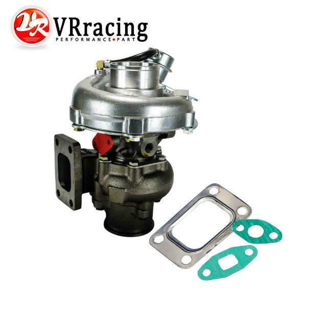 VR RACING KKR430 T430 Turbocharger For Nissan RB20 RB25 2 3L T3 Turbine 58 A R