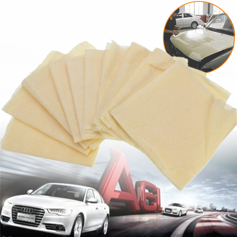 Image 2 - 10Pcs 35x22cm Tack Cloth Rags Sticky Paint Body Shop Resin Lint Dust Automotive Paint Sticky Cloth Dust Cloth Cleaning Cloths-in Tool Parts from Tools