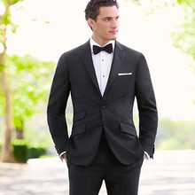 mens suits wedding groom tuxedo for men black tailor dinner prom suit high quality formal wear 2017