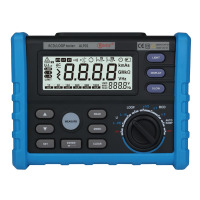 ALP01 0V 440V LOOP RCD tester trip out current time loop resistance with USB