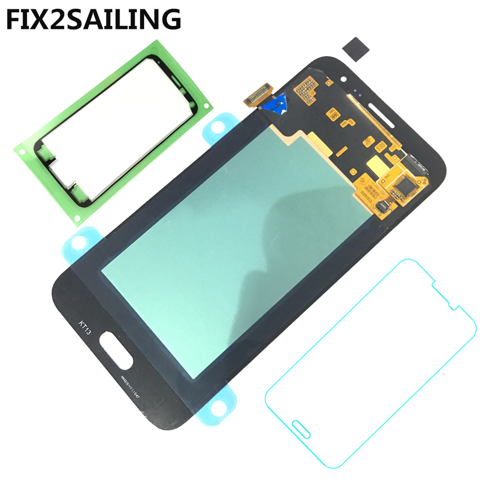 FIX2SAILING 100 Tested Working AMOLED LCD Display Touch Screen Assembly For Samsung Galaxy J3 2016 J320