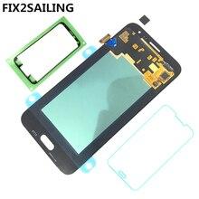 FIX2SAILING 100% тестирование работы AMOLED ЖК-дисплей Дисплей Сенсорный экран сборки для Samsung Galaxy J3 2016 J320 J320F J320H J320M J320F