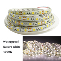 Tanbaby IP65 Waterproof Nature White 5050 Strip lighting DC12V 5M 300 leds 4000K super bright white led tape outdoor