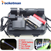 4000LM LED Flashligh CREE XM L T6 Linterna Led Waterproof Zoomable Zaklamp Torch 5 Modes 18650