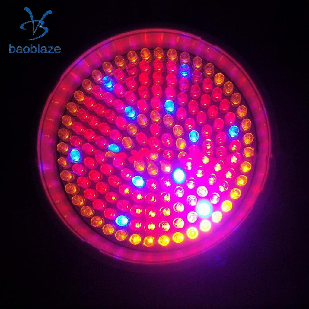 8W E27 168 LED Plant Grow Light Bulb Lamp for Garden Flower Hydroponics 110V