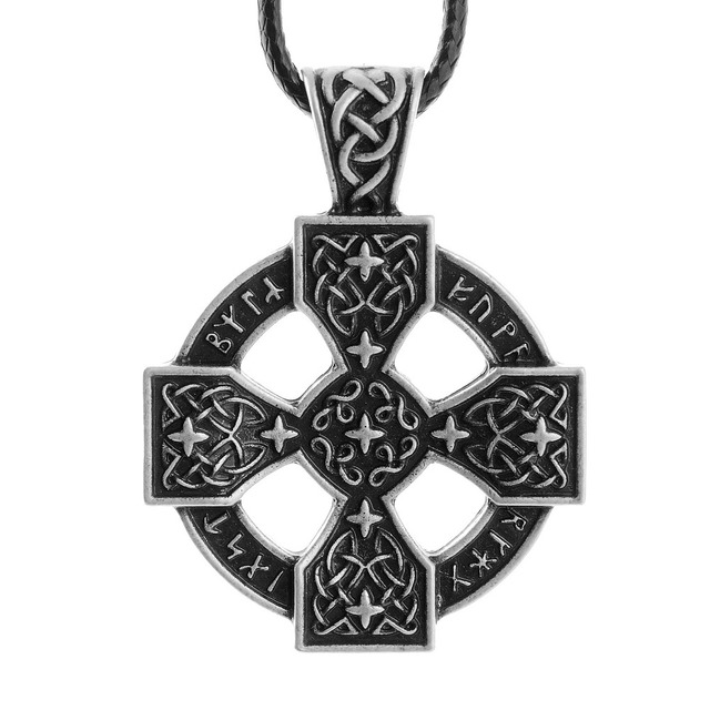 Pewter Norse Viking Rune Pendant zudkEbuLZT