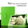 for Samsung Galaxy Tab S2 9.7 T810/T815 Tablet Case Litchi PU Leather Cover Free Shipping