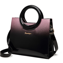 e1aca97ee Bolsos de lujo de marca famosa, bolso bandolera de cuero de patente de  calidad de