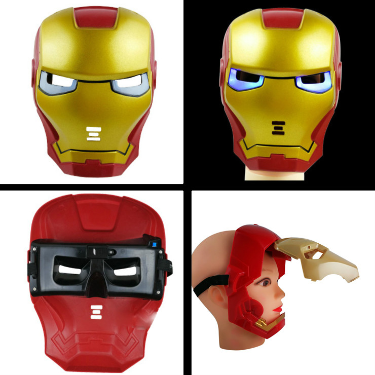 action-font-b-avengers-b-font-cosplay-glowing-toys-iron-man-hulk-black-panther-batman-mask-cosplay-party-supplier-halloween-kids-birthday-gift