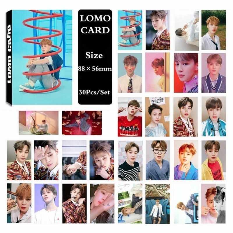 KPOP бумага ломо карты BT Bangtan обувь для мальчиков альбом LOVE YOURSELF ответ Подпись самодельный HD фотокарты одного человека