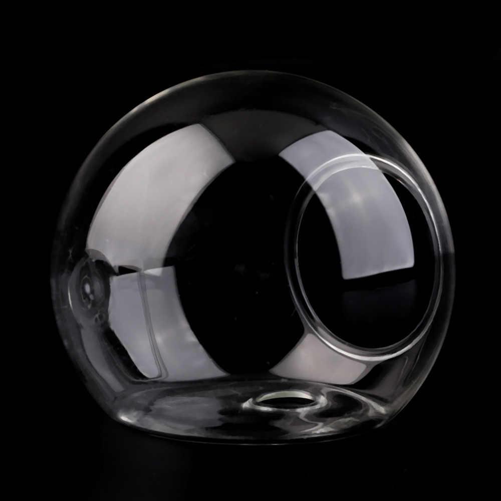 1PC High Borosilicate Glass Hanging Glass Flower Planter Vase Terrarium Container Home Garden Ball Decor