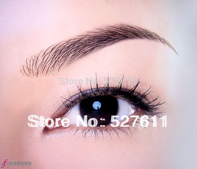 Mink Eyelashes Humano Weaving New Perfume 2015 Limited Offer Slove Hair Semillas Wigking False /fake Eyebrows Wigs Eyebrow