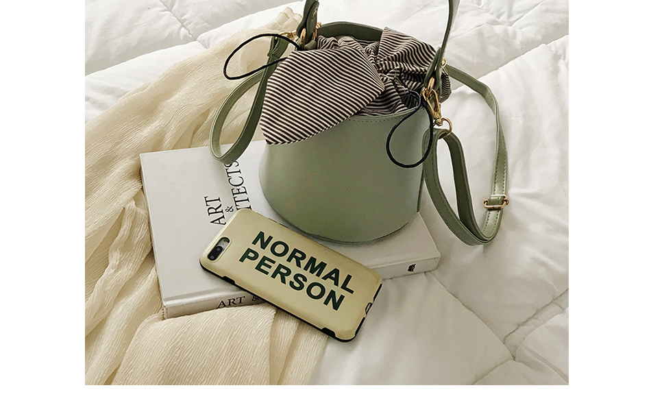 Women\'S Bucket Crossbody Bags PU Leather Handbag Designer Ladies Messenger Bags With Detachable Strap