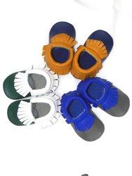 أحذية أصلية مصنوعة من الجلد للأطفال أحذية أطفال جديدة مصنوعة من الجلد الناعم أحذية للأطفال البنات أحذية لمشوا لأول مرة للأطفال الصغار