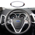 DWCX car styling Steering Wheel Center Paillette Ring Cover Airbag Mark for Ford Focus 2 3 Fiesta Mondeo Ecosport Kuga Escape