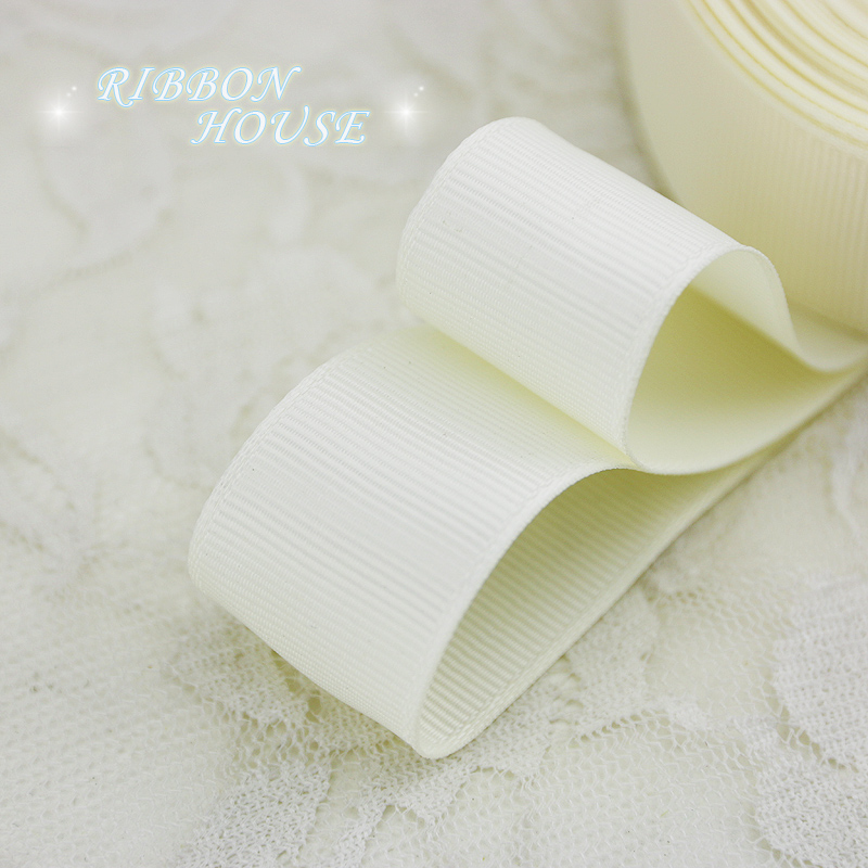(5 м/лот) 1 «(25 мм) Кремовый корсажная лента подарочная упаковка оптом Рождество украшение ленты