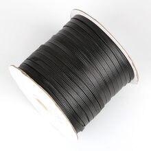 5-10 mt/los Halskette Lederband Dia 2mm 4mm 6mm 8mm 10mm Korean Baumwolle wachsene Schnur Thema Für Halsketten Schmuck