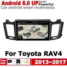 ZaiXi For Toyota RAV4 2013~2017 HD Screen Stereo Android Car GPS Navi Map Original Style Multimedia Player Auto Radio