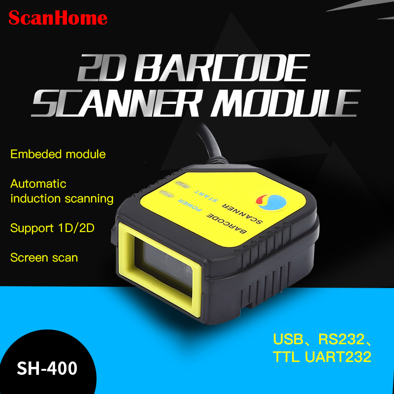 ScanHome embedded scanning module 2D code scanning head module fixed USB TTL RS232 scanning engine scanning  SH-400(China)