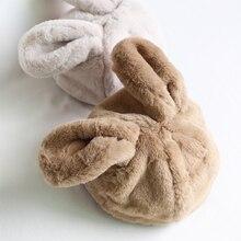 Phụ nữ Mũ Mùa Đông Nhật Bản Phong Cách Ngọt Ngào Dễ Thương Tai Thỏ Sang Trọng Mũ Động Vật Hat Skullies New Thời Trang Fluffy Ấm Beanies Mũ