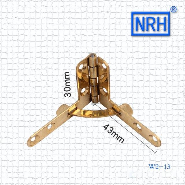 NRH seven word Jack hinge Antique jewelry box hinge High grade