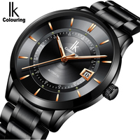 Relogio Masculino Mens Watches Top Brand Luxury Fashion Business Automatic Self Wind Watch Men Full Steel