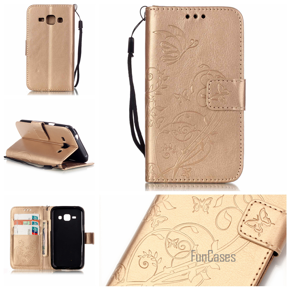 Case for coque Samsung J1 Case for fundas Samsung Galaxy J1 Cover Case 4.3 inch J1 J100 J100F <font><b>J100H</b></font> + Stand Card Holder image