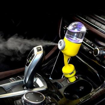 Car Aroma Diffuser 12V Car charger Steam Air Humidifier Mini Air Purifier Aromatherapy Essential Oil Diffuser Mist Maker Fogger