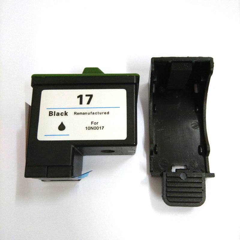 Einkshop For Lexmark17 Black Ink Cartridge For Lexmark 17 For lexmark Z13 Z23 Z25 Z33 Z35 Z603 Z605 X75 X1150 Z515 Z615 printer in Ink Cartridges from Computer Office