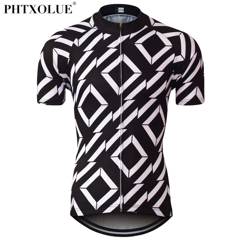 Phtxolue Summer Mens Cycling Jersey Mountain Mtb Bike Bicycle Jersey Wear Shirt Ciclismo Cycling Clothing Clothes