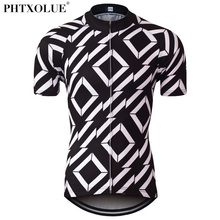 Phtxolue Summer Mens Cycling Jersey Mountain Mtb Bike Bicycle Jersey Wear Shirt Ciclismo Cycling Clothing Clothes SF045