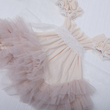 New 2017 Baby Girls Tulle Lace Dresses Kids Girls Princess tutu Party Dress Girl Spring Summer Korean clothing bebe clothes