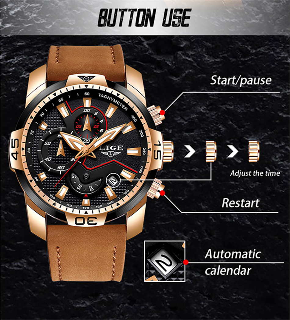 HTB1 sa5PY2pK1RjSZFsq6yNlXXak LIGE 2019 Fashion Men's Sport Watch Men Analog Quartz Watches Waterproof Date Military Multifunction Wrist Watches Men Clock+Box