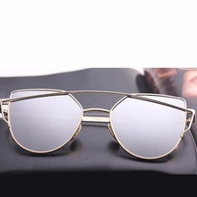 Reflective Lenses Ladies Sunglasses Metal Frame Outdoor Hiking Climbing Eyewear For Star Style High Quality Well Sell
