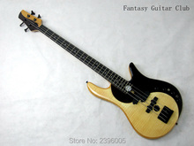 Custom Shop exclusive Fodera classical yin-yang bass Guitar 4 strings Butterfly bass Guitar handmade bass guitar real pics